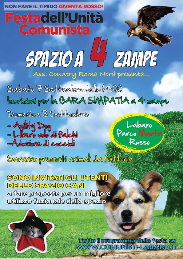 SPAZIO-A-4-ZAMPE