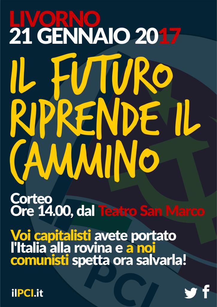 Manifesto 21 Gennaio Livorno 2